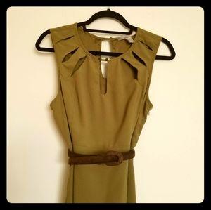 Love21 Olive Pencil Dress